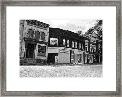 Days Gone Framed Print