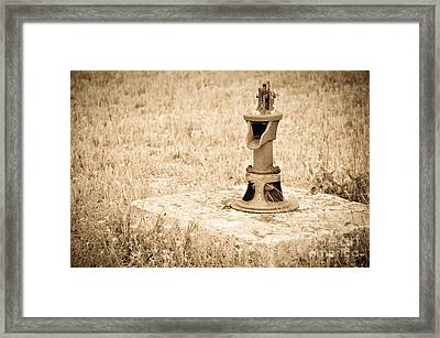 Days Gone By Framed Print by Cheryl McClure