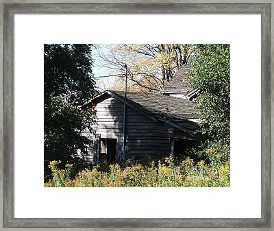 Framed Print featuring the photograph Days Gone By by Christian Mattison