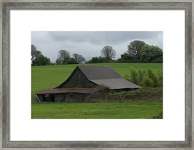 Framed Print featuring the photograph Days Gone By by Jerry Cahill