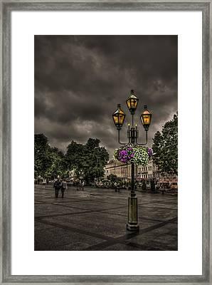 Days Of Thunder Framed Print by Evelina Kremsdorf