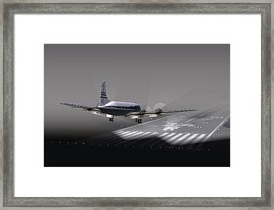 Dc6 Nite Final 17x11 Framed Print