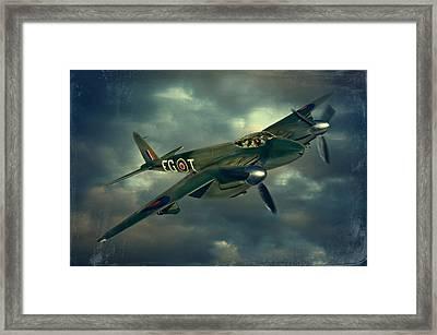 De Haviland Mosquito Framed Print