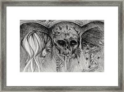 Dead And Alive Framed Print by Melissa Cabigao