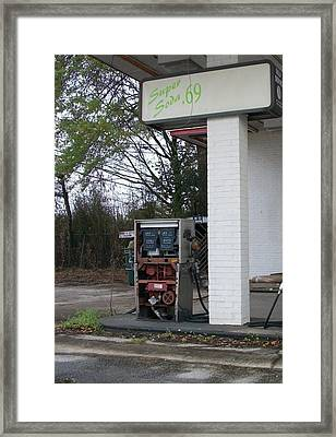 Dead Fuel Framed Print