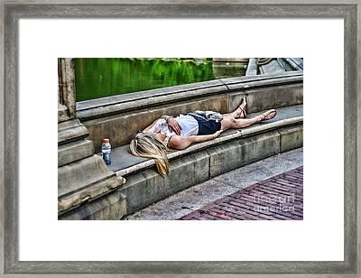 Dead On Arrival  Or  Doa Framed Print by Paul Ward