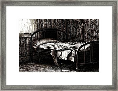 Dead Sleep Framed Print by Empty Wall