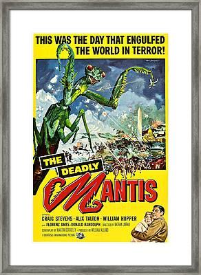 Deadly Mantis, The, Alix Talton, Craig Framed Print by Everett