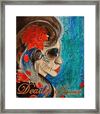 Deadly Sweet Framed Print