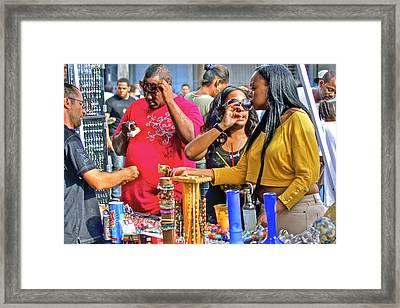 Deal Framed Print by Dieter  Lesche