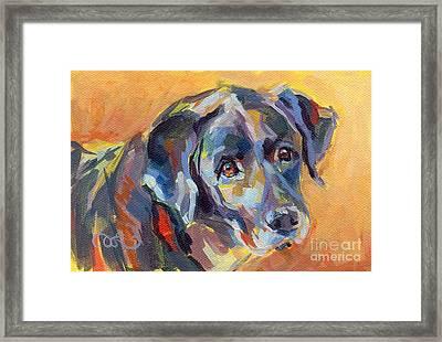 Dear Ole Annie Framed Print by Kimberly Santini