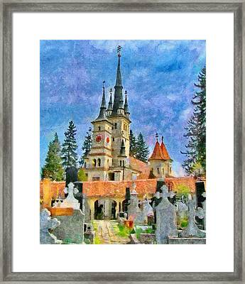Death And Life Framed Print