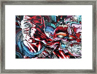 Death And Life Framed Print by Yurix Sardinelly