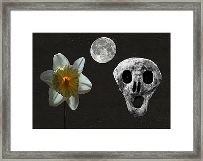 Death And The Daffodil  Framed Print by Eric Kempson