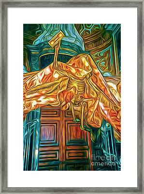 Death At The Vatican Framed Print by Gregory Dyer