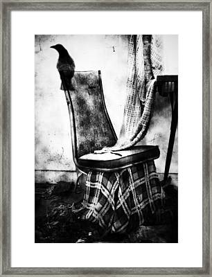 Death Of A Songbird  Framed Print by Empty Wall