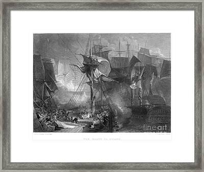 Death Of Nelson, 1805 Framed Print