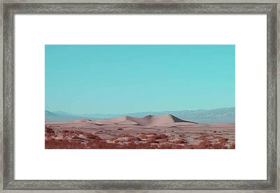 Death Valley Dunes 2 Framed Print by Naxart Studio