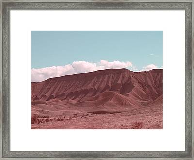 Death Valley Framed Print by Naxart Studio