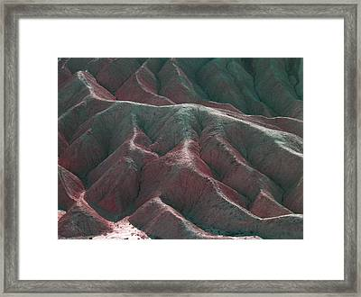 Death Valley Mountains 3 Framed Print