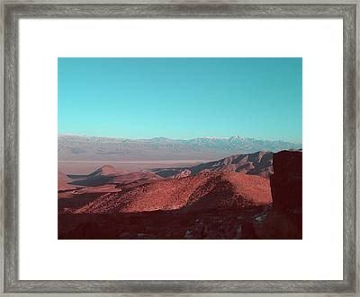 Death Valley View 1 Framed Print by Naxart Studio