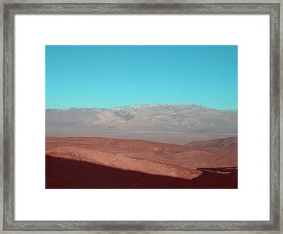Death Valley View 3 Framed Print by Naxart Studio