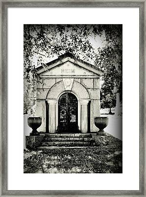 Death's Door Framed Print