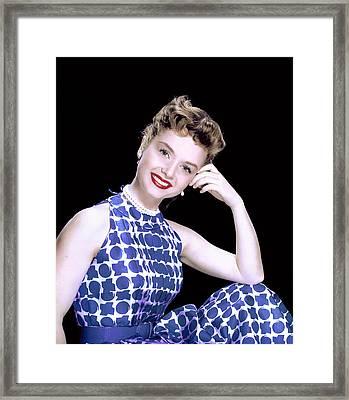 Debbie Reynolds, C. 1950s Framed Print by Everett