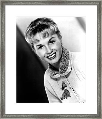 Debbie Reynolds, Portrait, Ca.1950s Framed Print by Everett