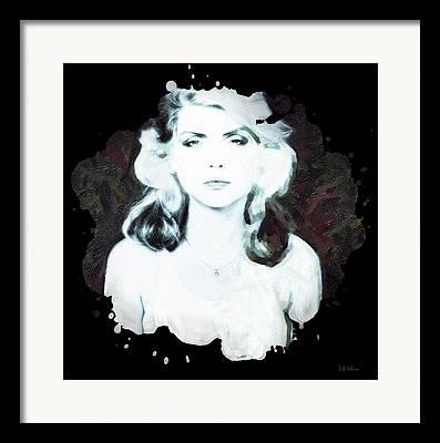 Songstress Mixed Media Framed Prints