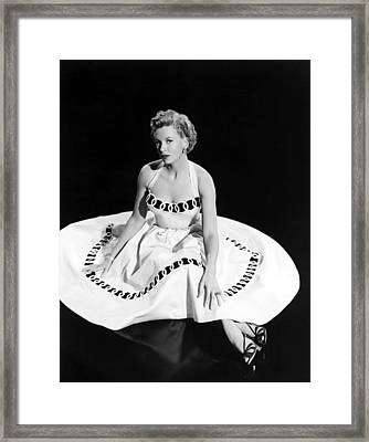 Deborah Kerr, 1954 Framed Print by Everett