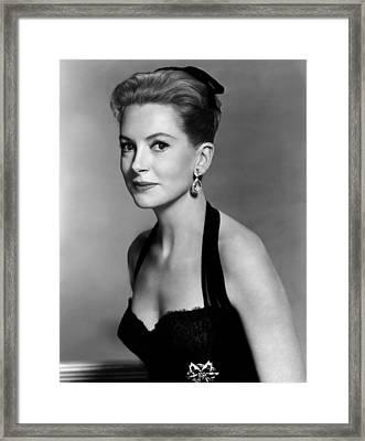 Deborah Kerr, 1959 Framed Print by Everett