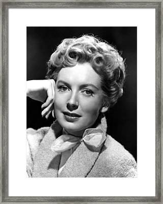 Deborah Kerr, C. Early-mid 1950s Framed Print by Everett