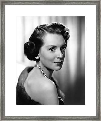 Deborah Kerr, Ca. 1950s Framed Print by Everett