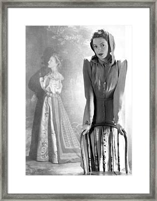 Deborah Kerr, Circa 1940s Framed Print by Everett