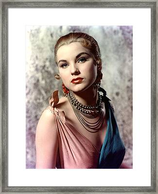 Debra Paget, Ca. Early 1950s Framed Print