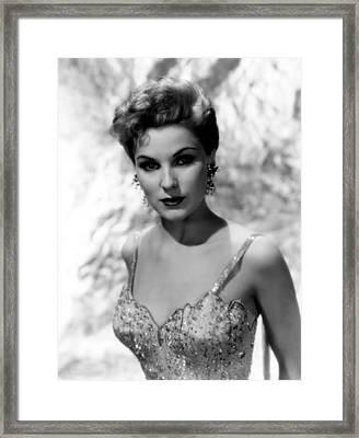 Debra Paget, Ca. Mid-1950s Framed Print by Everett
