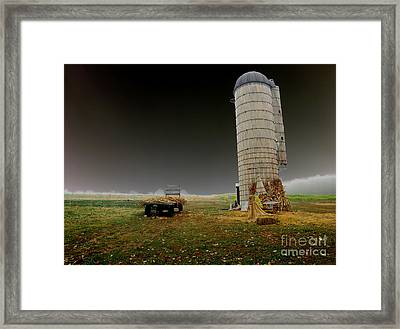 Decayed Framed Print by Cindy Roesinger