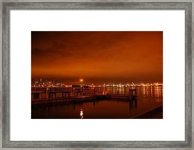 December Daybreak Framed Print