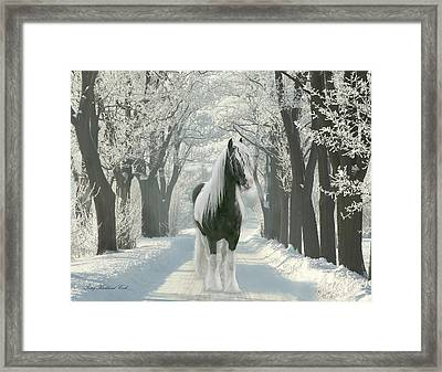 December Morning Framed Print by Terry Kirkland Cook