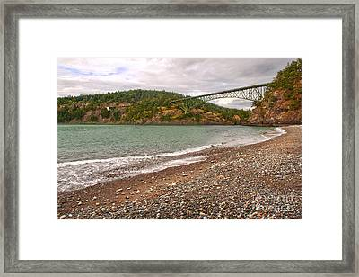 Deception Pass Washington Framed Print by Artist and Photographer Laura Wrede