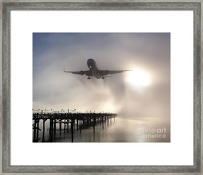 Decision Height Framed Print