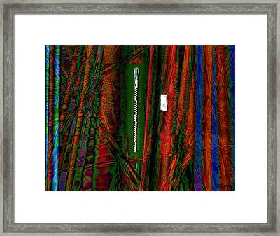 Decisions No. 1 Framed Print by Paula Ayers