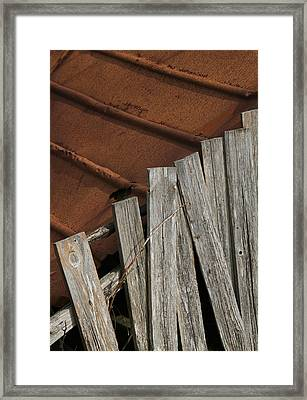 Deconstruction Framed Print by Odd Jeppesen