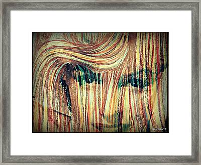 Deconstruction Of Icons Framed Print by Paulo Zerbato