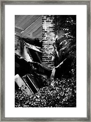 Deconstruction Framed Print by Rebecca Sherman