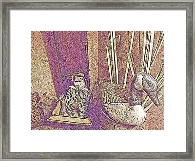 Decor Framed Print by Dave Dresser