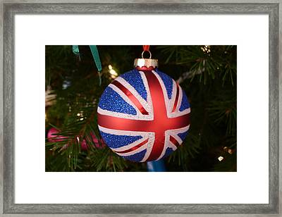 Framed Print featuring the photograph Decorate The Union by Richard Reeve