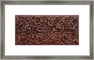 Decorative Panel - Spring Framed Print by Goran