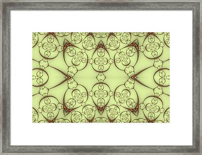 Decorative Wirework Framed Print